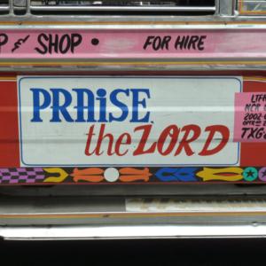 Mechanized Street Preacher. (Photo: Anderson Blanton)