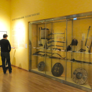 Exhibits on the Second Siege in the Wien Museum. (Photo: Annika Kirbis)