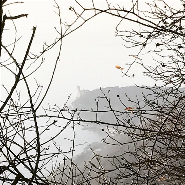 Strada Napoleonica, The Castle of Miramare. (Photo: Giulia Carabelli)