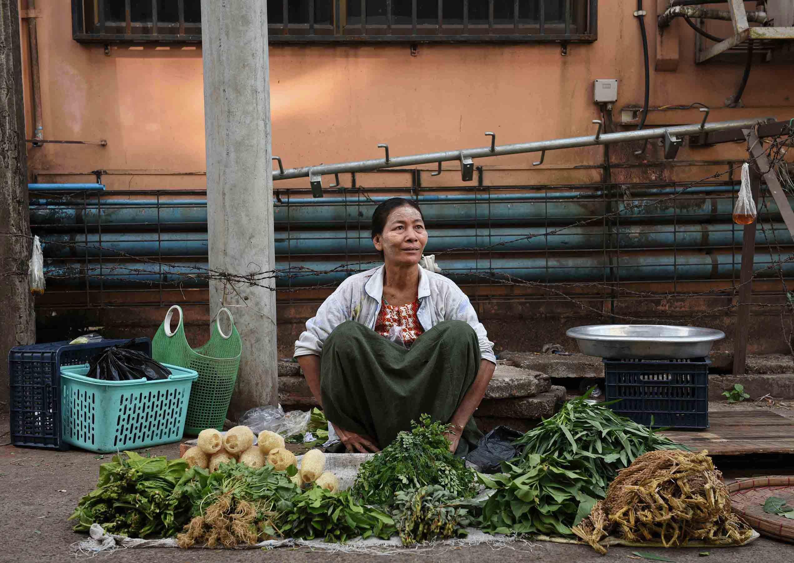 Fresh vegetables. (Photo: Naomi Hellmann)